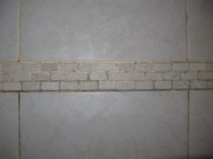 improper grout sealing